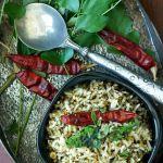 Karuveppilai Rice Recipe (Karuveppilai Sadam) | Curry Leaves Rice Recipe | Karivepaku Annam