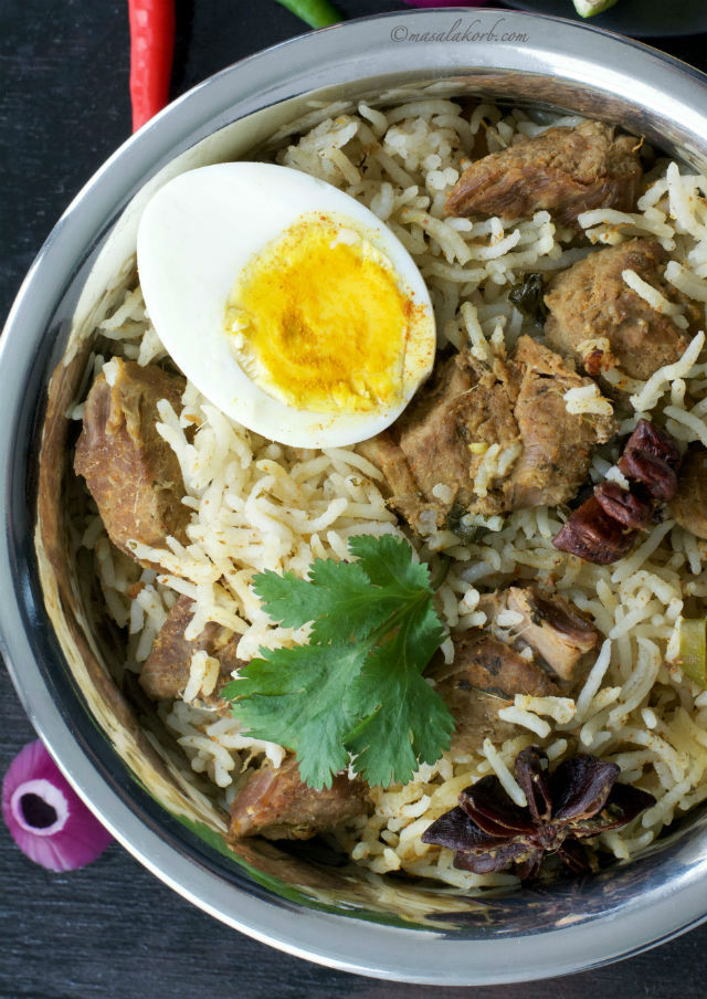 Mutton biryani recipe south indian cooker mutton biryani mutton biryani recipe south indian style cooker mutton biryani forumfinder Choice Image