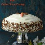 Super Moist Carrot Cake Recipe With Cream Cheese Frosting | Double Layer Carrot Cake | Easter Carrot Cake Recipe