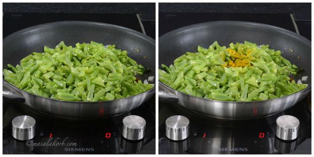 How to prepare Avarakkai Poriyal, Broad Bean Stir Fry