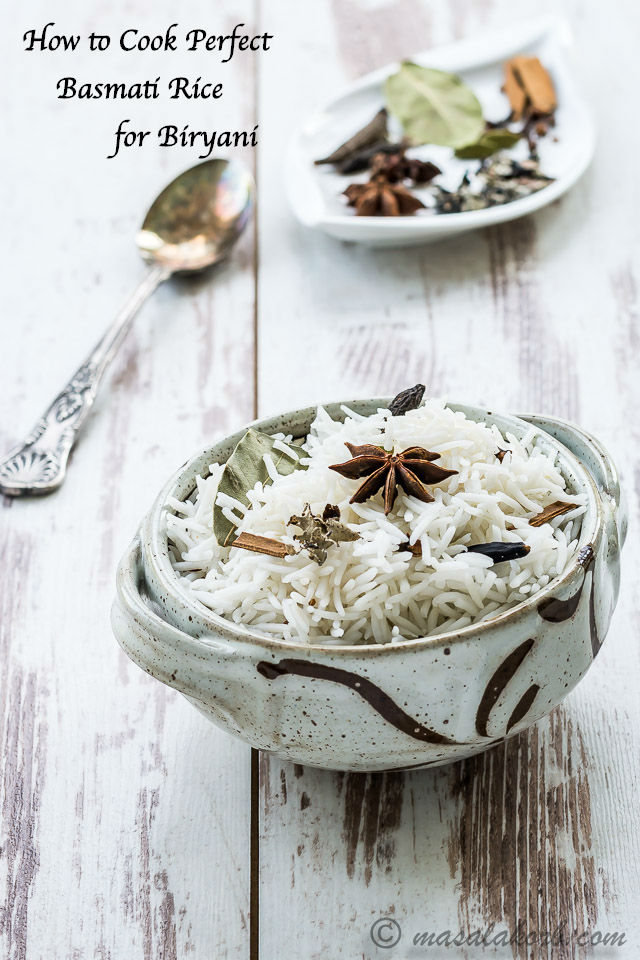 How To Cook Perfect Basmati Rice For Biryani Dum Rice Masalakorb