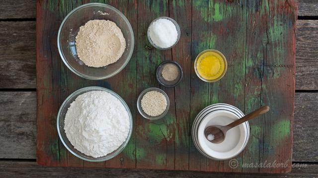 Ingredients needed to make Uppu Seedai