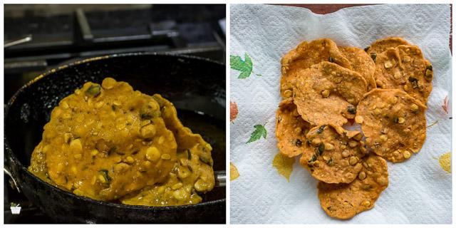 How to make Thattu Vadai, Thattai Murukku Recipe steps