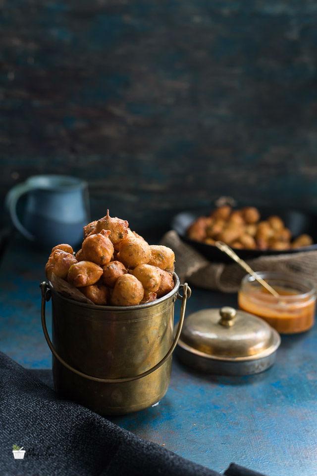 Andhra Street Food Recipes- Punugulu