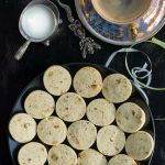 Pistachio Rosewater Cookies | Rosewater Shortbread Recipe | Rosewater Biscuits | How to make Pistachio Biscuits | Rose Flavoured Cookies