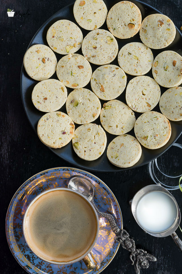 Rosewater Biscuits