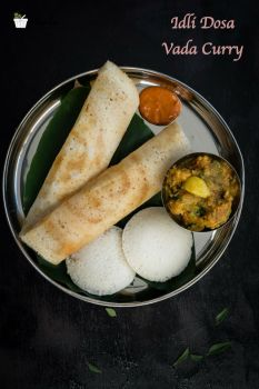 Idli Vada Dosa Breakfast Menu 1