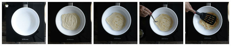 Layered Paratha Recipe