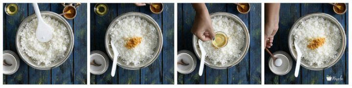 Pulihora recipe step by step