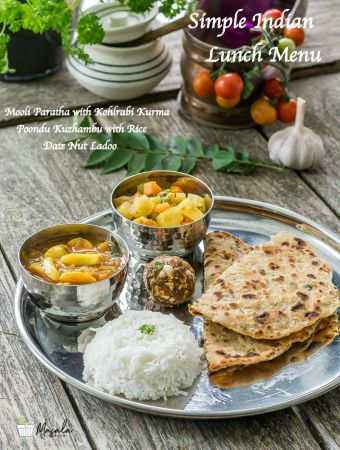 Simple Indian Lunch Menu 4