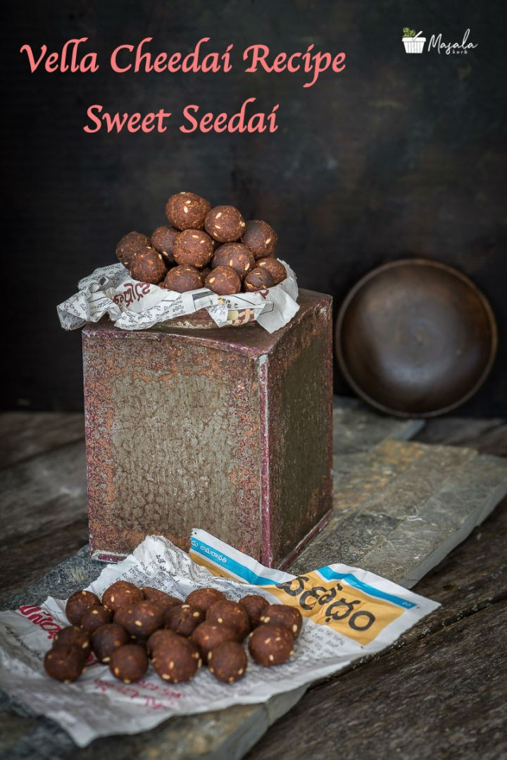 Vella Cheedai Recipe Sweet Seedai