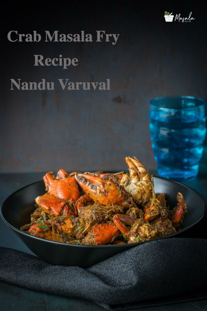 Crab masala fry Recipe, Chettinad Nandu Varuval