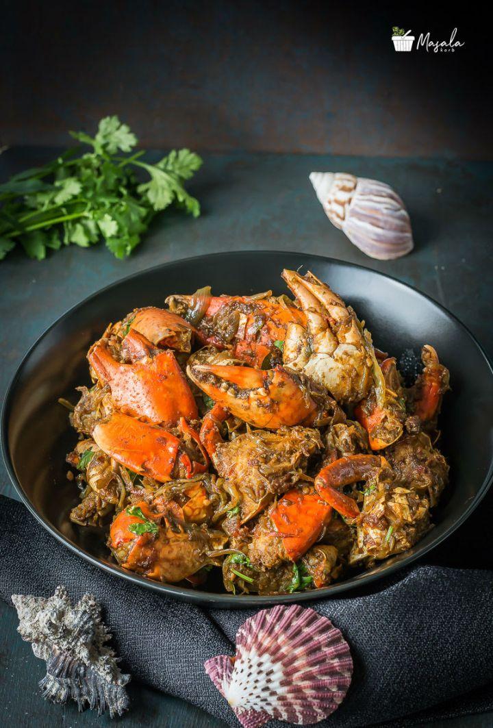Crab Roast Recipe - Nandu Fry