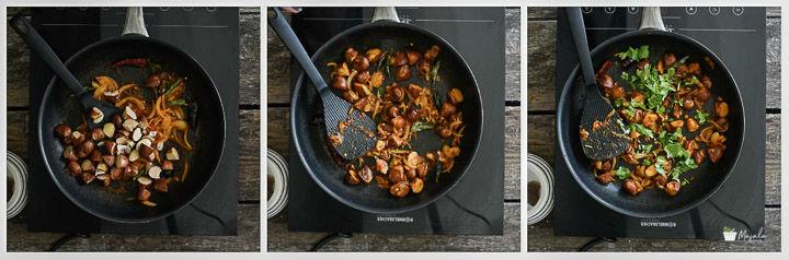 Jackfruit Seeds Curry - Palakottai Poriyal