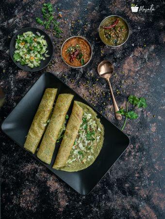 Instant Moong Dal Dosa Recipe