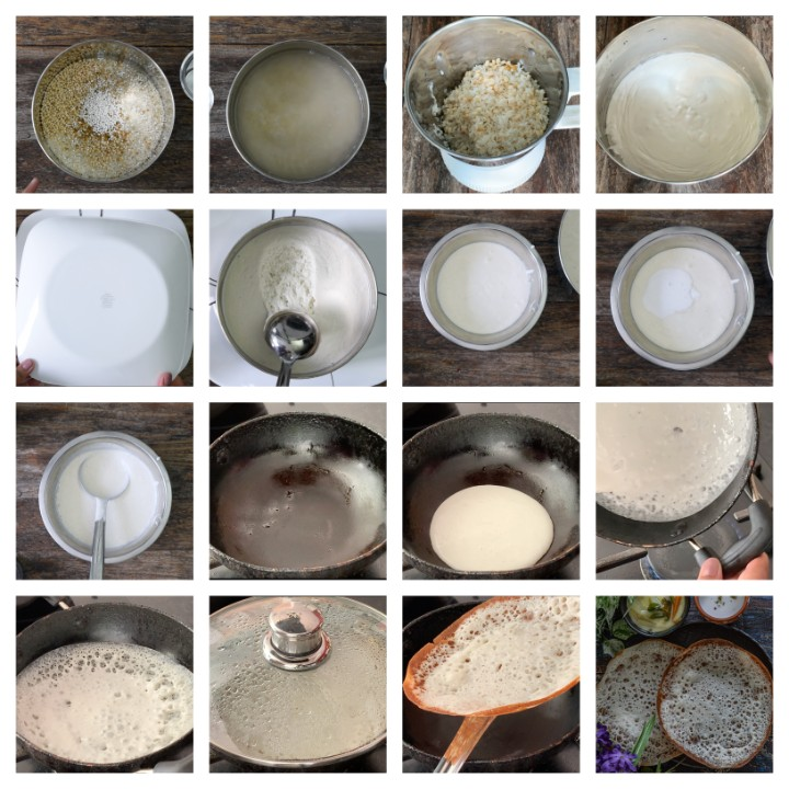 Appam Recipe Without Yeast steps