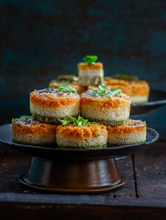 Instant Rava Dhokla Recipe for Indian independence day