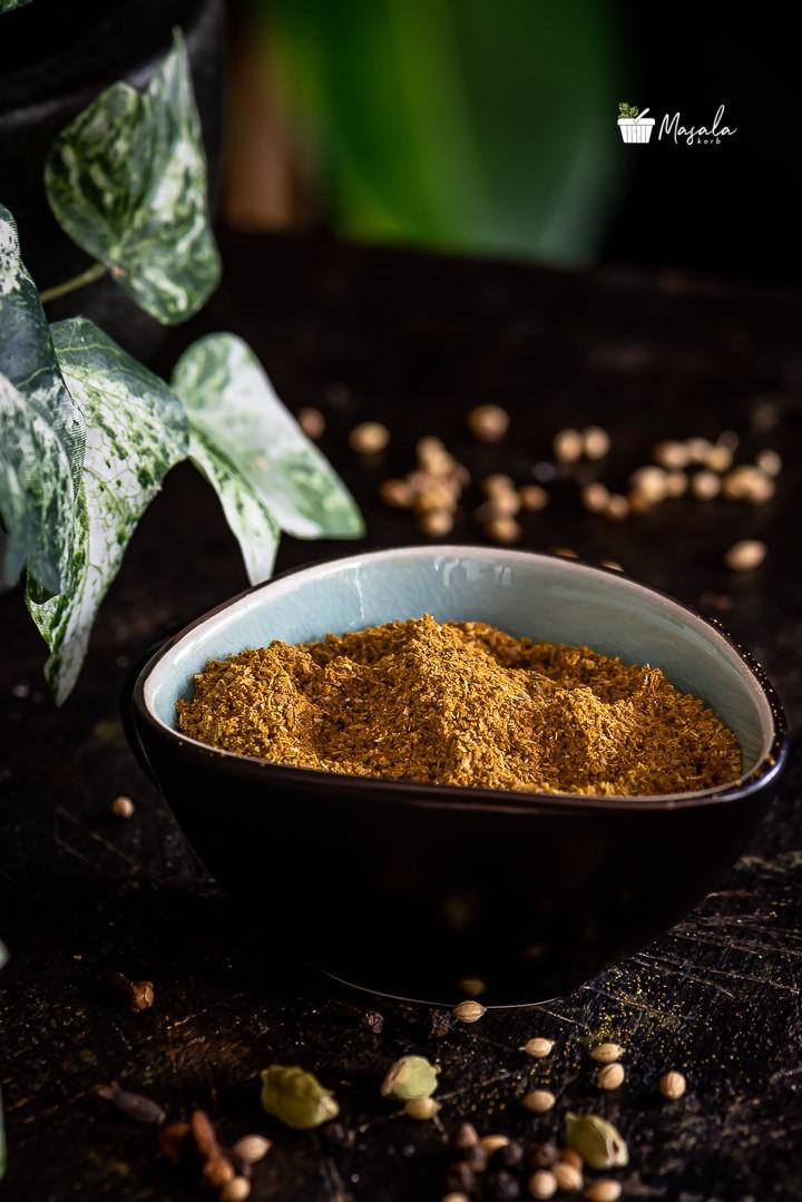 homemade Kashaya Powder prepared & ready to store
