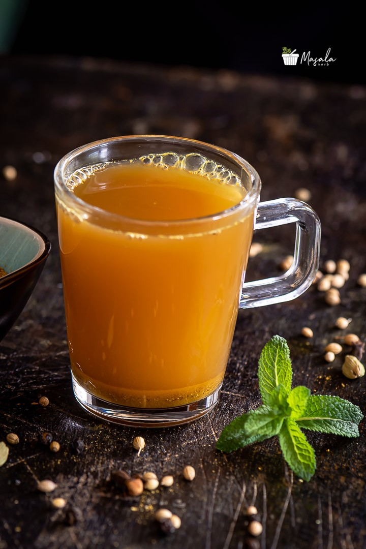 Kashayam, natural immunity booster served in a glass
