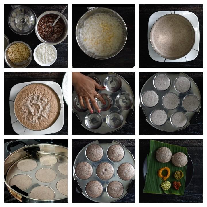 Soft Ragi Idli Recipe Steps