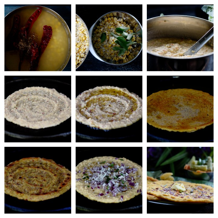 Steps to follow for adai recipe