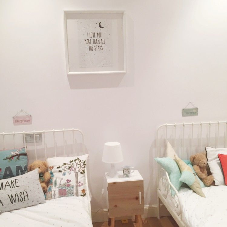 ideas decoración dormitorio infantil dos camas