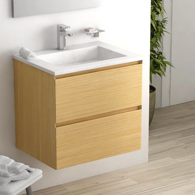 8 meubles de salle de bain en bois