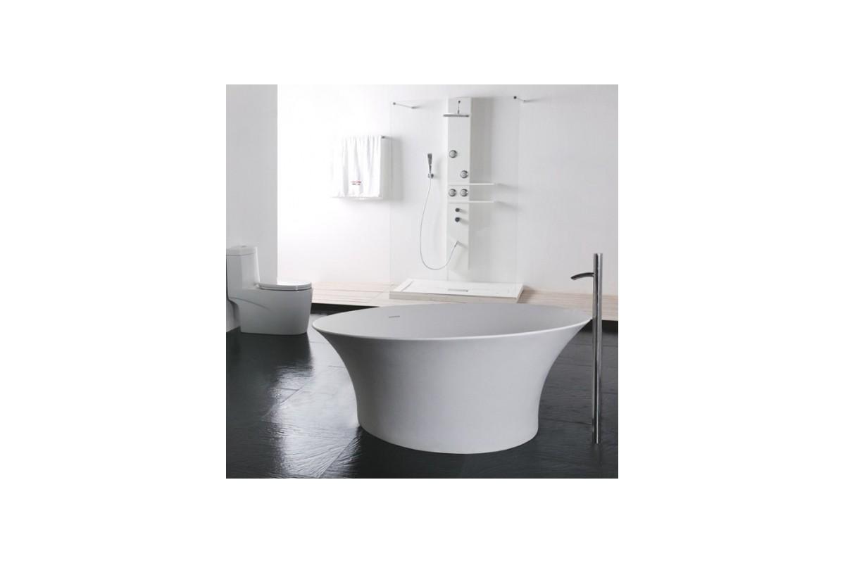 Baignoire Ilot Ronde Maison Design