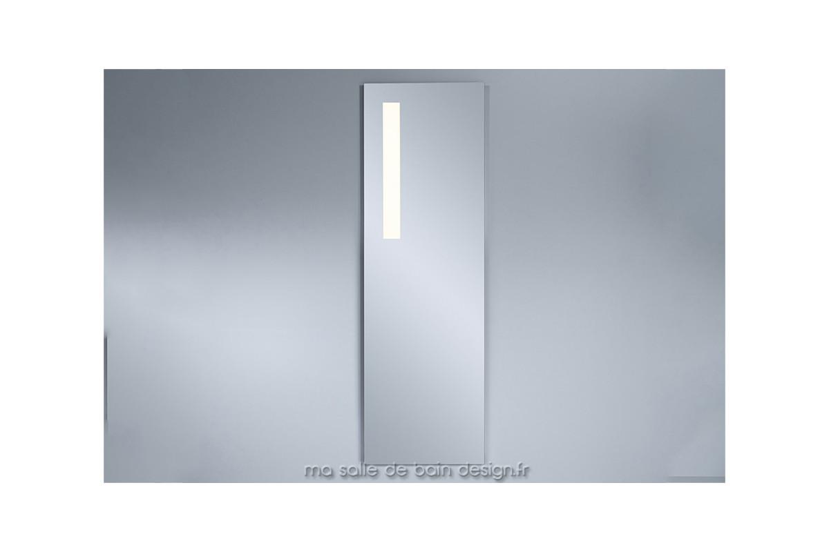 Miroir Lumineux Led Vertical Pour Salle De Bains Haut De 150 Cm Environ