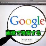 Googleの画像で検索する方法〜その検索精度はいかがなものか?〜