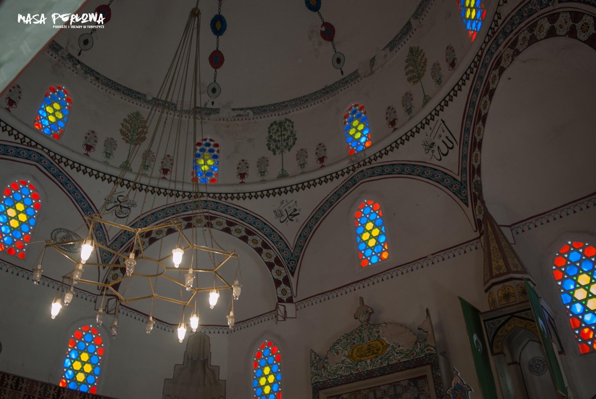 Meczet Koski Mehmed-Paszy w Mostarze wnętrze