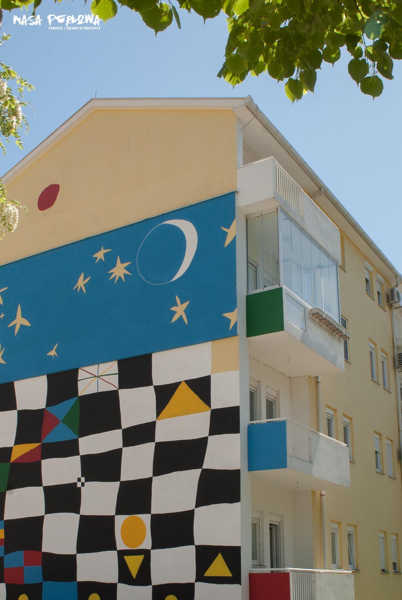 Mostar mural gwiazdy