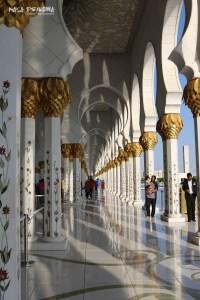 Abu Zabi wielki meczet