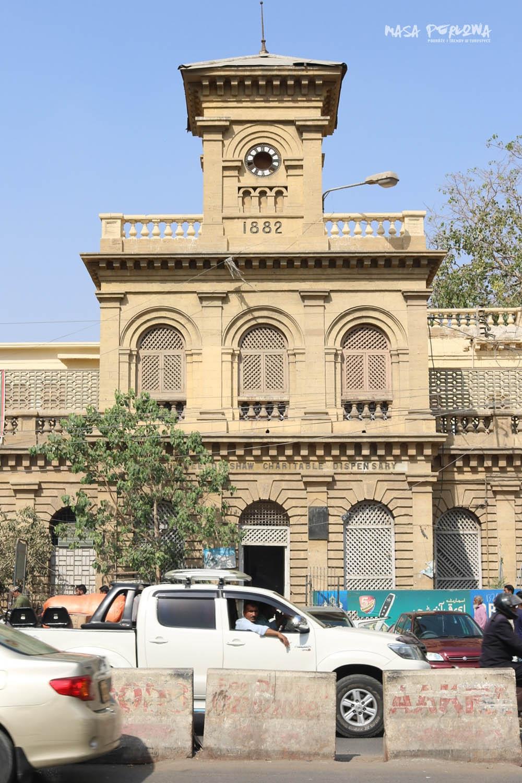 Karaczi budynek kolonialny