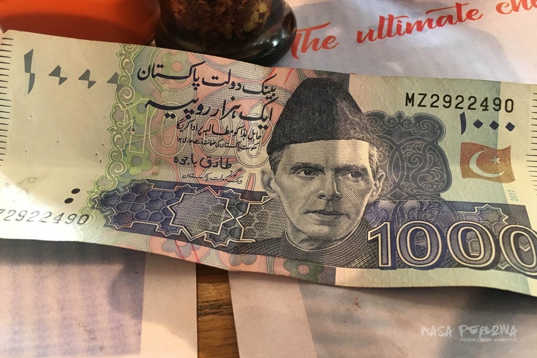 Pakistanskie rupie