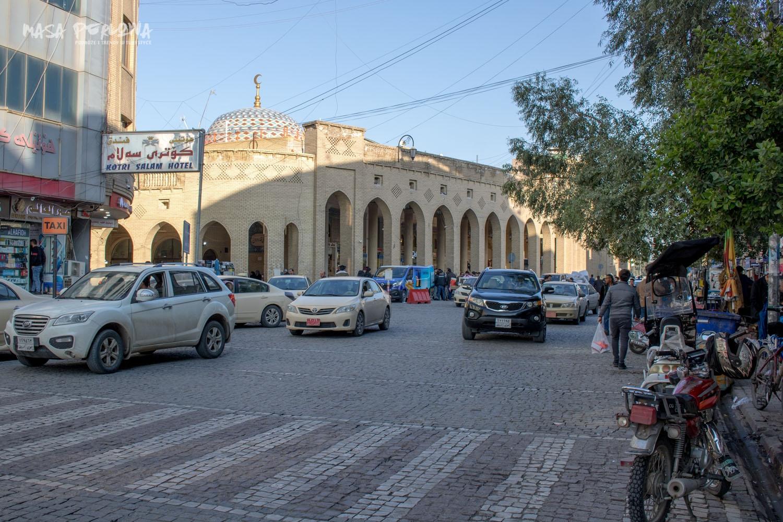 Irbil bazar ulica Irak Kurdystan