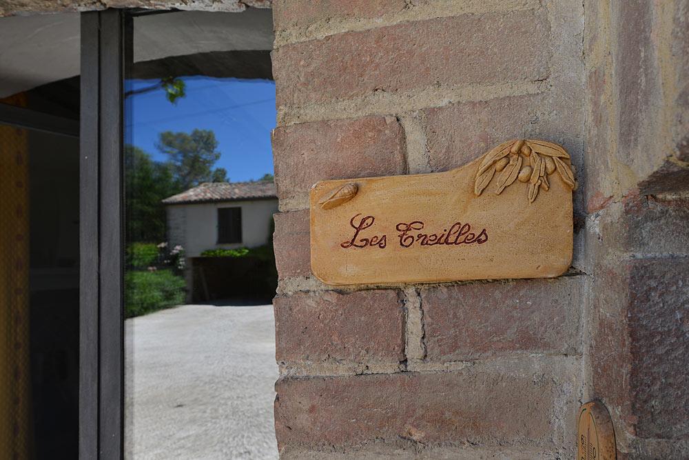 L'entrée des Treilles au Mas de la Baillyde, gîtes de charme en Cévennes