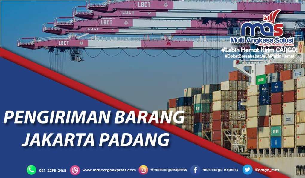 Pengiriman barang Jakarta Padang