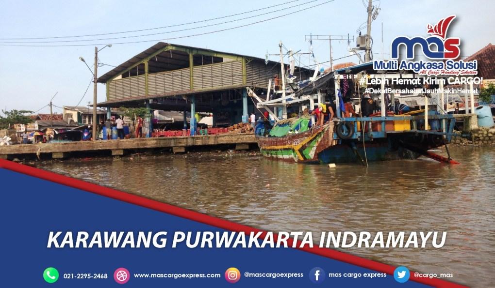 Jasa dan Tarif Ekspedisi Karawang Purwakarta Indramayu murah