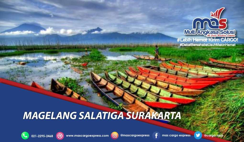 Jasa dan Tarif Ekspedisi Magelang Salatiga Surakarta murah