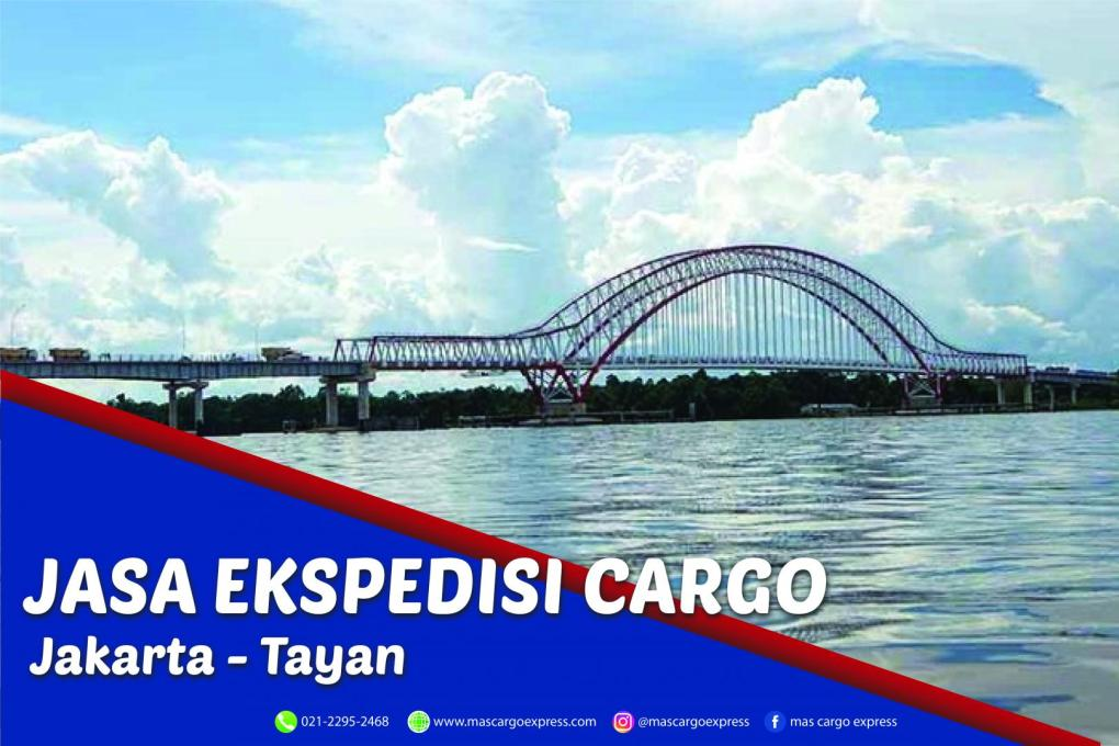 Jasa Ekspedisi Cargo Jakarta ke Tayan Murah, Cepat, Aman dan Bergaransi