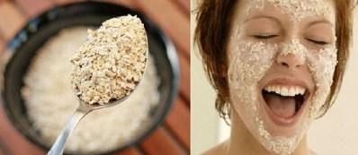 Mascarilla de Quaker para el acné