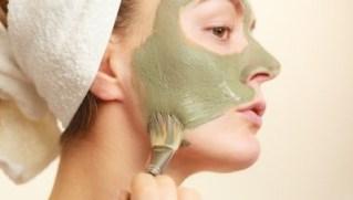 Mascarilla de barro verde