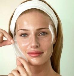 Mascarilla de gelatina para la cara