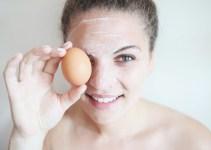 Mascarilla de huevo para acné
