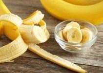 mascarilla de banano y bicarbonato