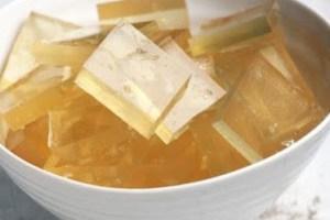 mascarilla de grenetina y miel