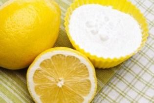 mascarilla de limon con bicarbonato