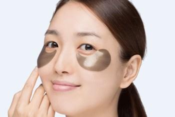 Mascarilla de ojos para un rostro radiante