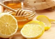 Mascarilla de miel con limón
